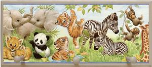 Illumalilte Designs Jungle Pals Wall Plaque