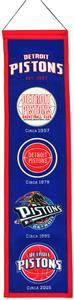 Winning Streak NBA Detroit Pistons Heritage Banner