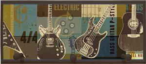 Illumalite Designs Guitar Collage Wall Plaque