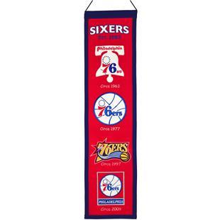 Winning Streak NBA Philadelphia 76ers  Banner