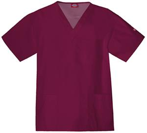 Dickies Men's EDS V-Neck Scrub Tops
