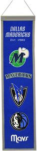 WinningStreak NBA Dallas Mavericks Heritage Banner