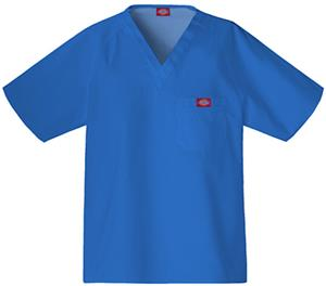 Dickies Men&#39;s EDS V-Neck Raglan Sleeve Scrub Tops