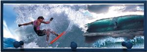 Illumalite Designs Surfer Wall Plaque