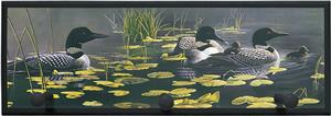 Illumalite Designs Ducks in Water Wall Plaque