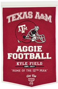 Winning Streak NCAA Texas A&amp;M Powerhouse Banner