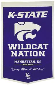 Winning Streak NCAA Kansas State Powerhouse Banner