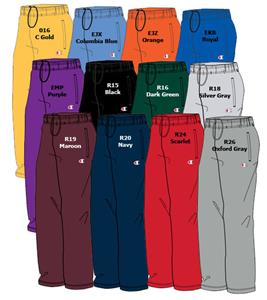 Double Dry Action Fleece Open Bottom Sweat Pants