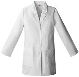 Dickies Women's Three Pocket Basic Scrub Lab Coats