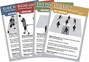 Coach Deck of Cards Basketball Drills
