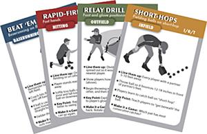 Coach Deck of Cards Baseball Drills