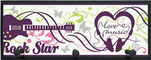 Illumalite Designs Rock Star Wall Plaque