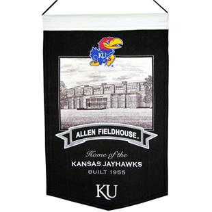 WinningStreak NCAA Allen Fieldhouse Stadium Banner