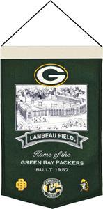 Winning Streak NFL Lambeau Field Banner