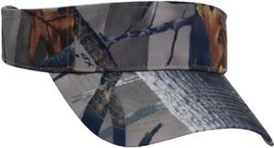Pacific Headwear 525V Camo Visor