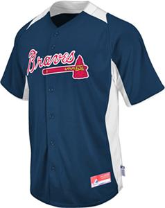 MLB Cool Base BP Atlanta Braves Baseball Jersey