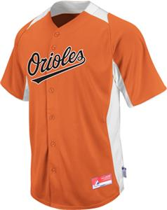 MLB Cool Base BP Baltimore Orioles Baseball Jersey