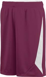 Augusta Reversible Basketball Slam Dunk Short