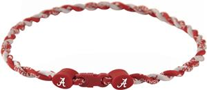 Eagles Wings NCAA Alabama Titanium Twist Necklaces