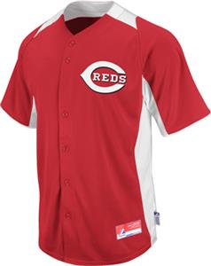 MLB Cool Base BP Cincinnati Reds Baseball Jersey