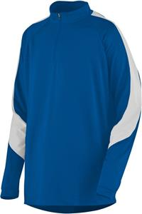 Augusta Sportswear Adult Half Zip Synergy Pullover