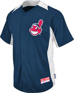 MLB Cool Base BP Cleveland Indians Baseball Jersey