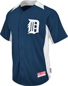MLB Cool Base BP Detroit Tigers Baseball Jersey