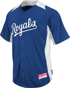 MLB Cool Base BP Kansas City Royals Jersey
