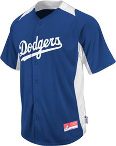 MLB Cool Base BP Los Angeles Dodgers Jersey