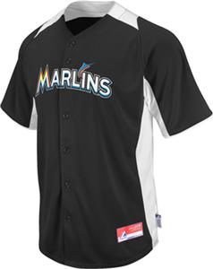 MLB Cool Base BP Miami Marlins Baseball Jersey