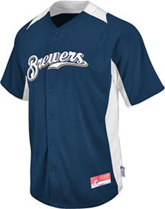 MLB Cool Base BP Milwaukee Brewers Baseball Jersey