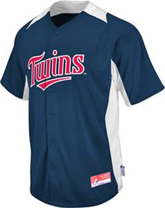 MLB Cool Base BP Minnesota Twins Baseball Jersey