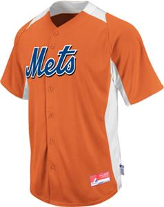 MLB Cool Base BP New York Mets Baseball Jersey