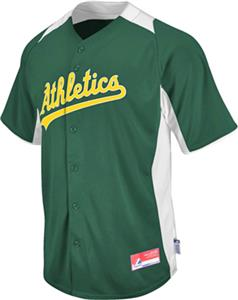 MLB Cool Base BP Oakland Athletics Baseball Jersey