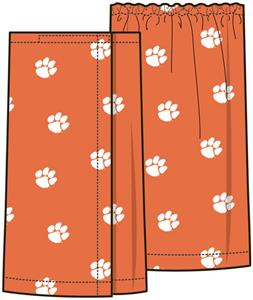 Emerson Street Clemson Tigers Womens Spa Wrap