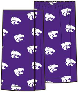 Emerson Street Kansas State Womens Spa Wrap