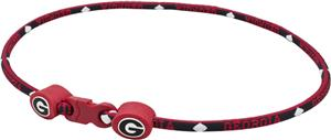 Eagles Wings NCAA Georgia Titanium Sport Necklaces