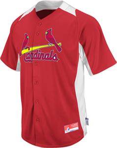 MLB Cool Base BP St. Louis Cardinals Jersey