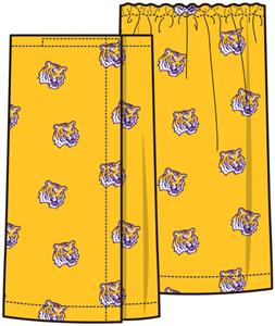 Emerson Street LSU Tigers Womens Spa Wrap