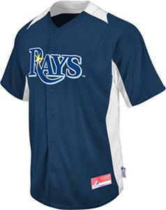MLB Cool Base BP Tampa Bay Rays Baseball Jersey