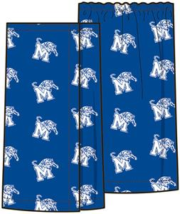 Emerson Street Memphis Tigers Womens Spa Wrap