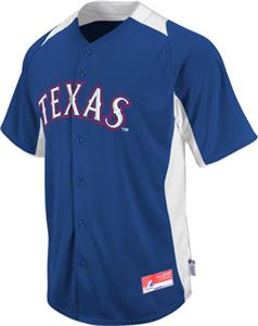 MLB Cool Base BP Texas Rangers Baseball Jersey