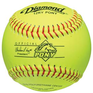 Diamond 12RY Pony League 12&quot; Youth Softballs