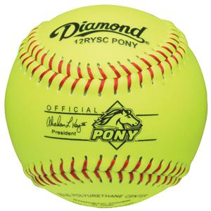 Diamond 12RYSC Pony League 12&quot; Youth Softballs