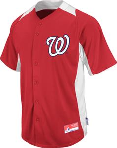 MLB Cool Base BP Washington Nationals Jersey