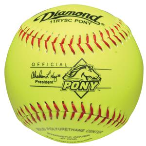 "Diamond 11RYSC Pony League 11"" Youth Softballs"