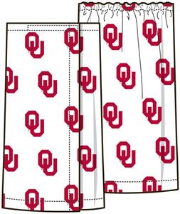 Emerson Street Oklahoma Sooners Womens Spa Wrap