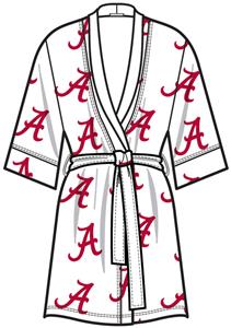 Alabama University Womens Spa Kimono Robe