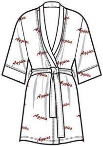 Emerson Street Texas A&M Womens Spa Kimono Robe