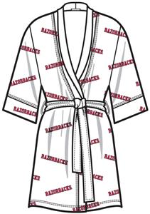 Emerson Street Arkansas Womens Spa Kimono Robe